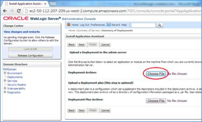 Step 2  ServiceManager Installation for WebLogic – AuraPlayer